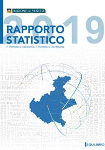 Copertina del volume: Il Veneto si racconta / il Veneto si confronta - Rapporto Statistico 2018